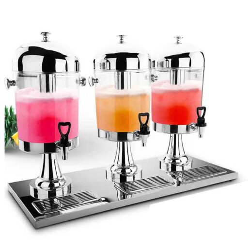 Juice Dispenser Silver