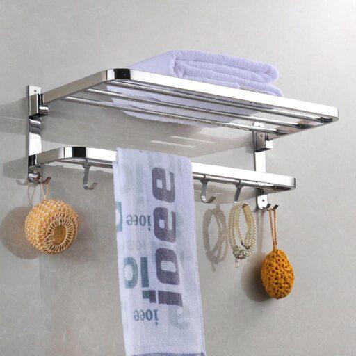 Square towel rack