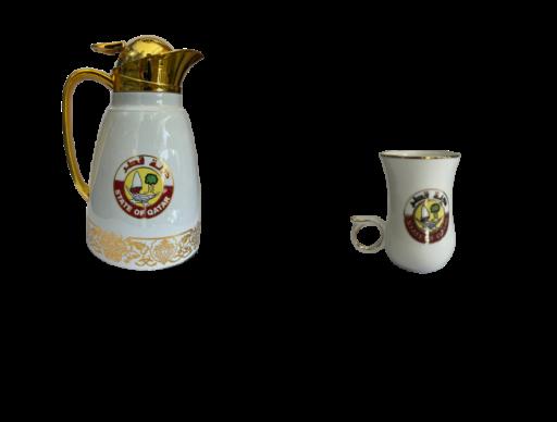 Insulated Tea Pot & cup